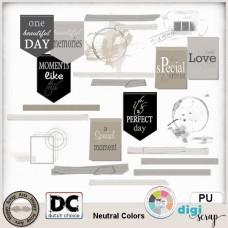Neutral Colors elements