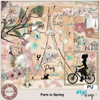 Paris in Spring elements