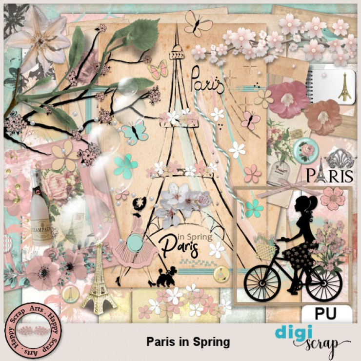 Paris in Spring kit