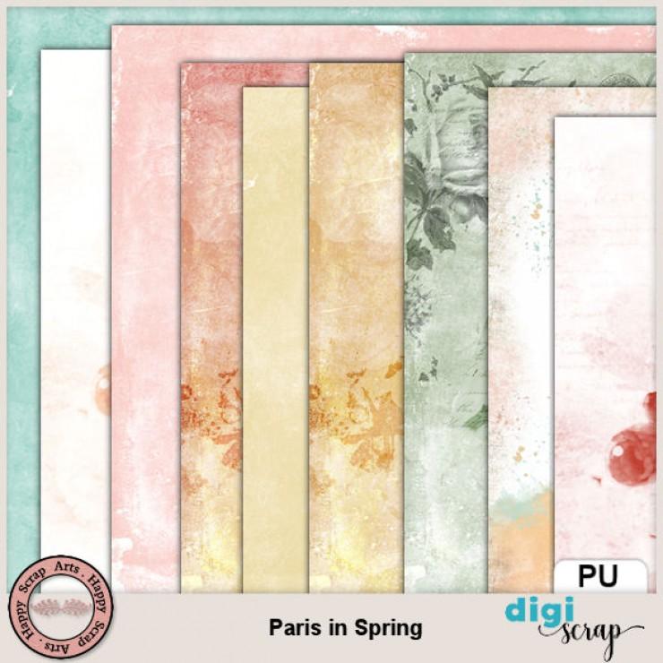 Paris in Spring papers 1