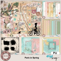 Paris in Spring bundle