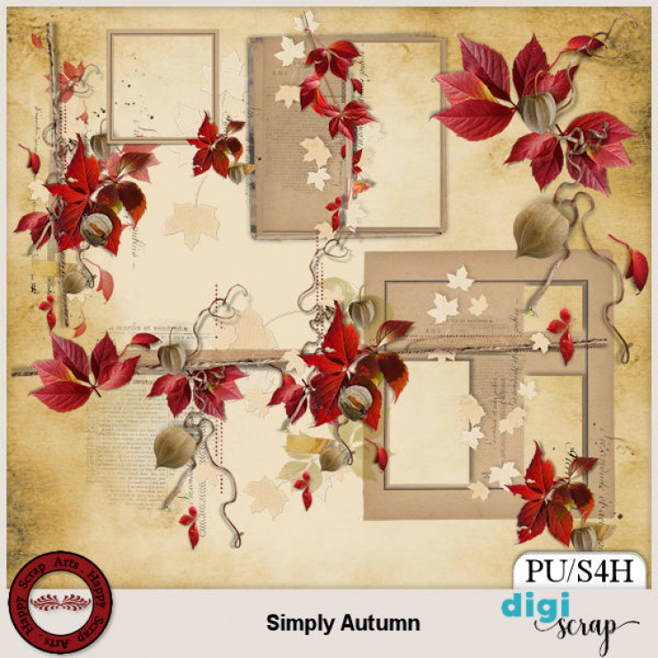 Simply Autumn Clusters