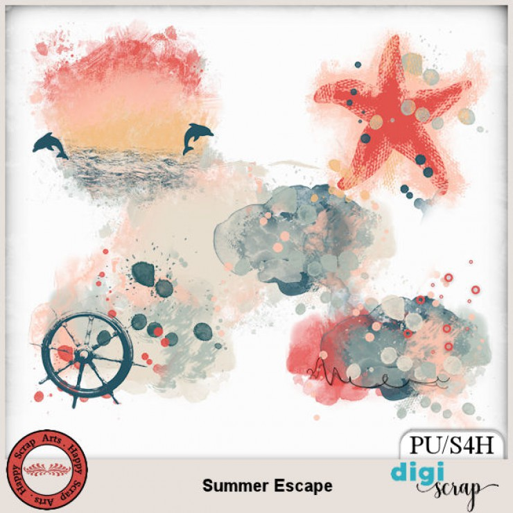 Summer Escape accents