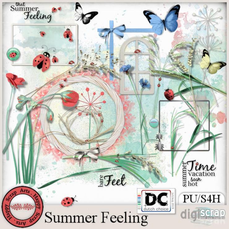 Summer Feeling elements