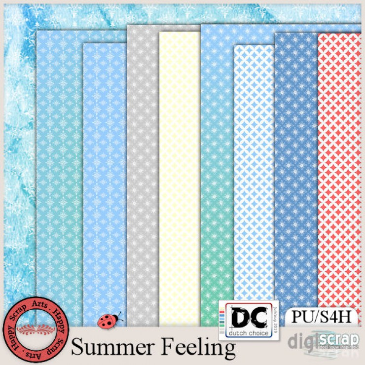 Summer Feeling papers 2