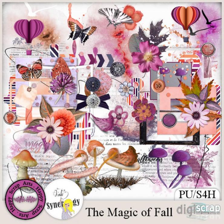 The Magic of Fall elements