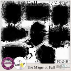 The Magic of Fall mask