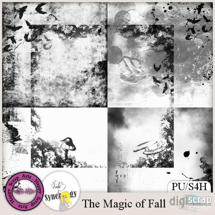 The Magic of Fall overlays