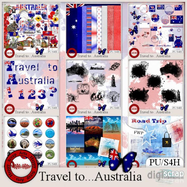 Travel to Australia bundle