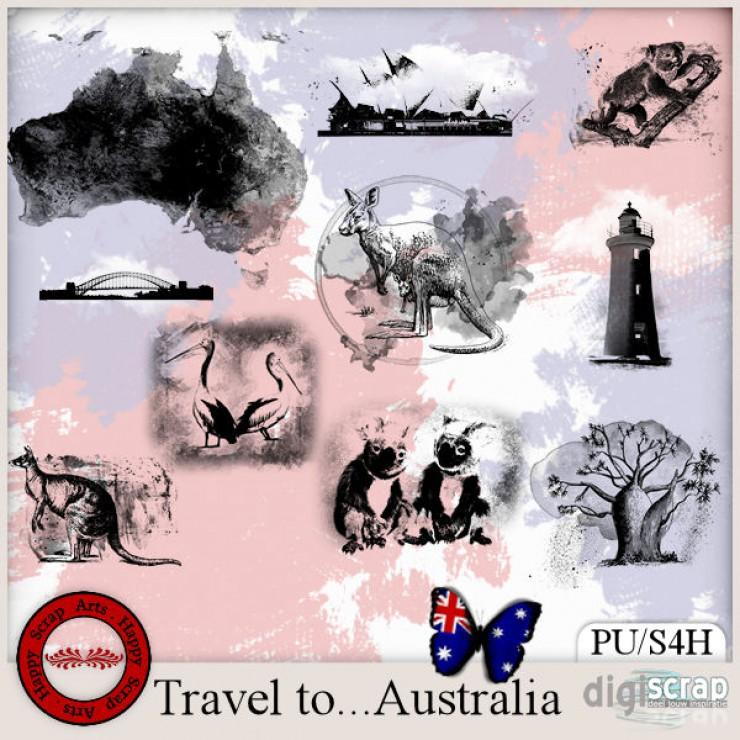 Travel to Australia accents