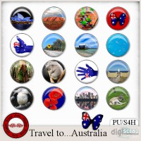 Travel to Australia flairs