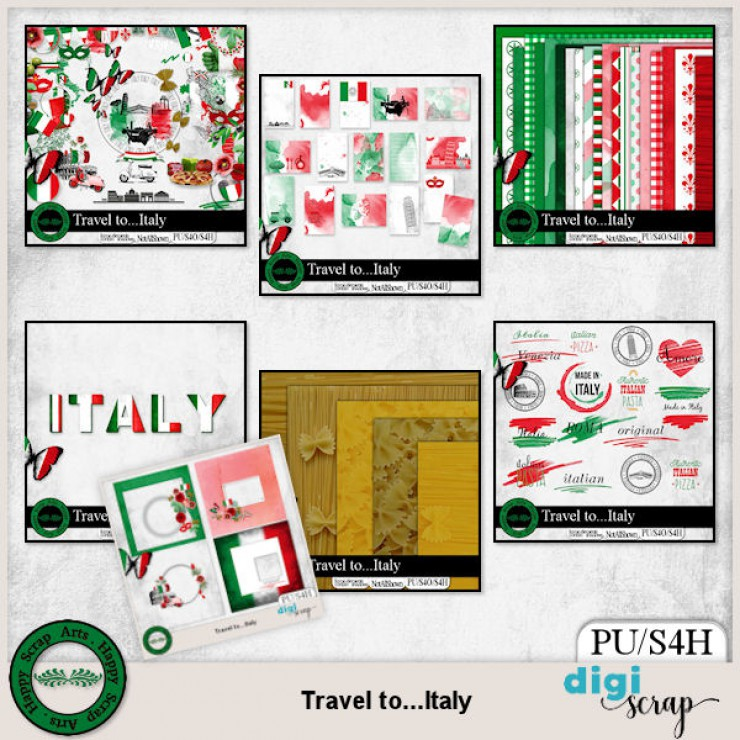 Travel to Italy bundle
