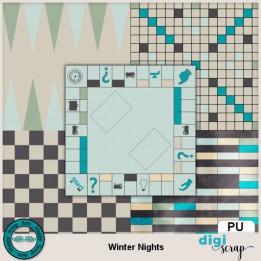 Winter Nights gameboard