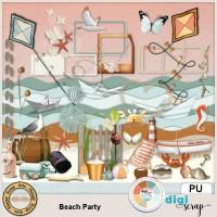 Beach Party elements