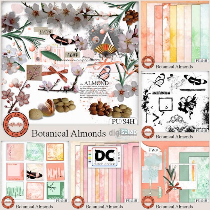Botanical Almonds bundle