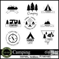 Camping Logos