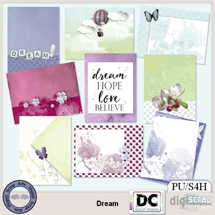 Dream journal cards