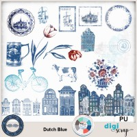Dutch Blue Grungy Images