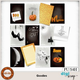 Goodies journal cards