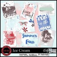 Ice Cream stickers