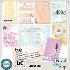 Just Be journal cards