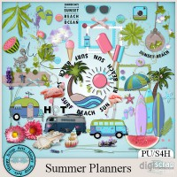 Summer Planners elements