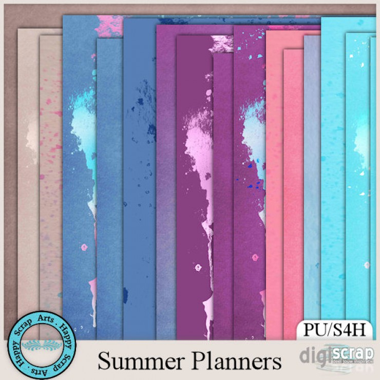 Summer Planners papers