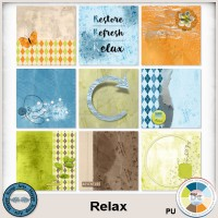 Relax journal cards