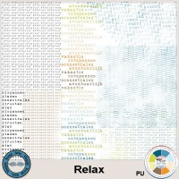 Relax wordart overlays