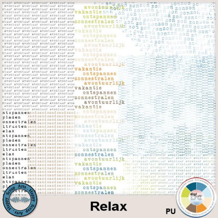 Relax wordart overlays