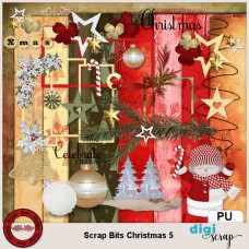 Scrap Bits Christmas 5