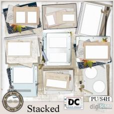 Stacked cluster frames