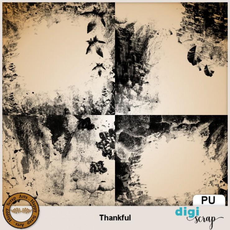 Thankful overlays
