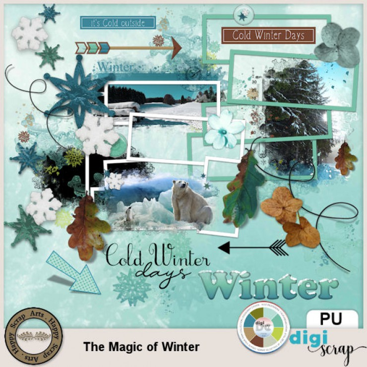 The Magic of Winter kit add on