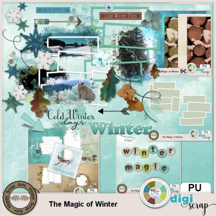 The Magic of Winter kit bundle 2
