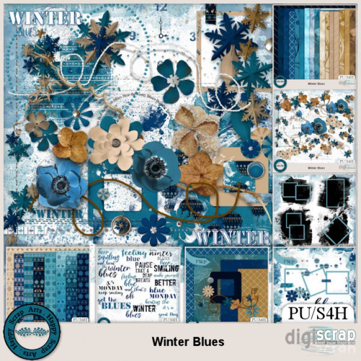 Winter Blues bundle