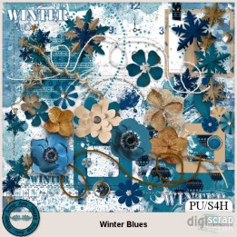 Winter Blues elements