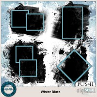 Winter Blues masks
