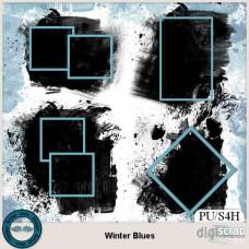 Winter Blues masks