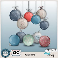 Winterland Christmas Baubles