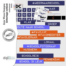 Lettertape School NL