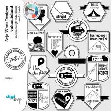 Vakantieland | Badges