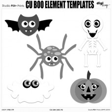 CU Boo Element - templates