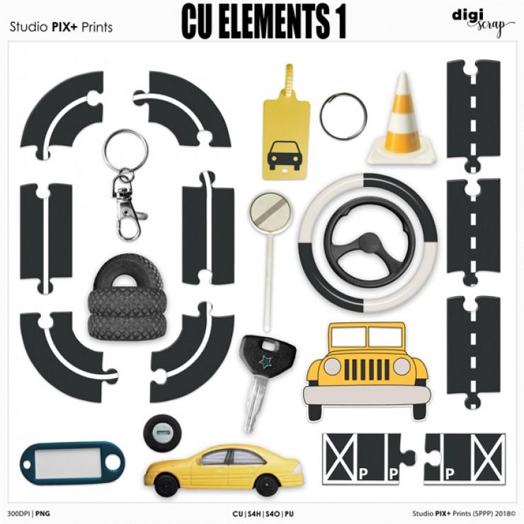 Elements 1 - CU|PU