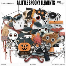 A Little Spooky Elements - PU