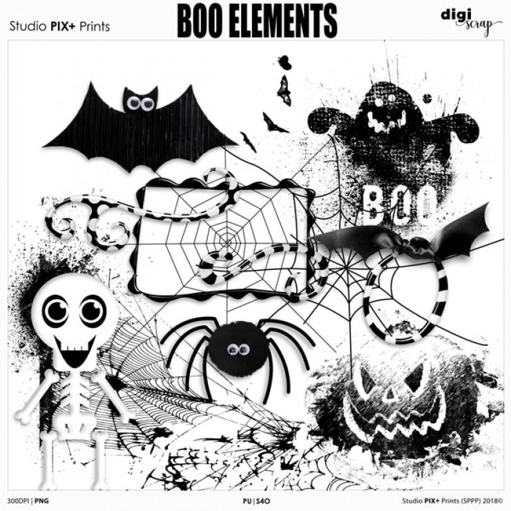 Boo Elements - PU