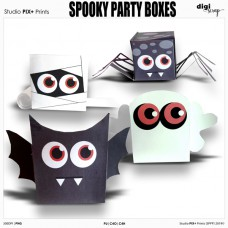 Spooky Party Boxes - PU