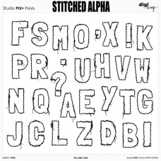 Stitched Alpha - PU