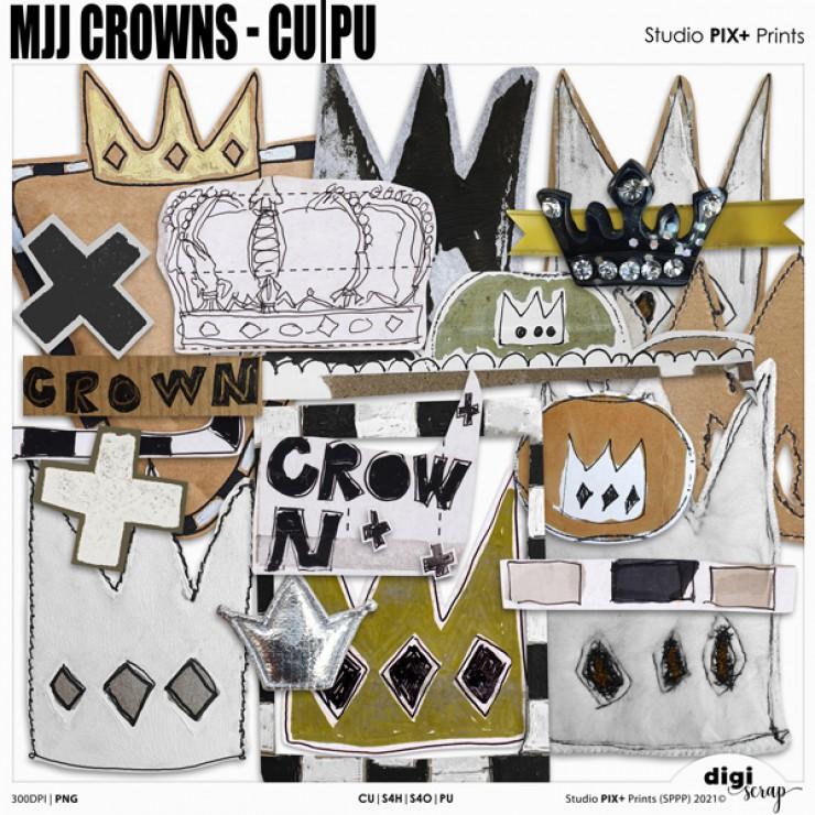 MJJ Crowns - CU PU