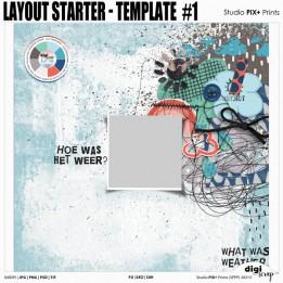 Layout Starter Template 1 - PU
